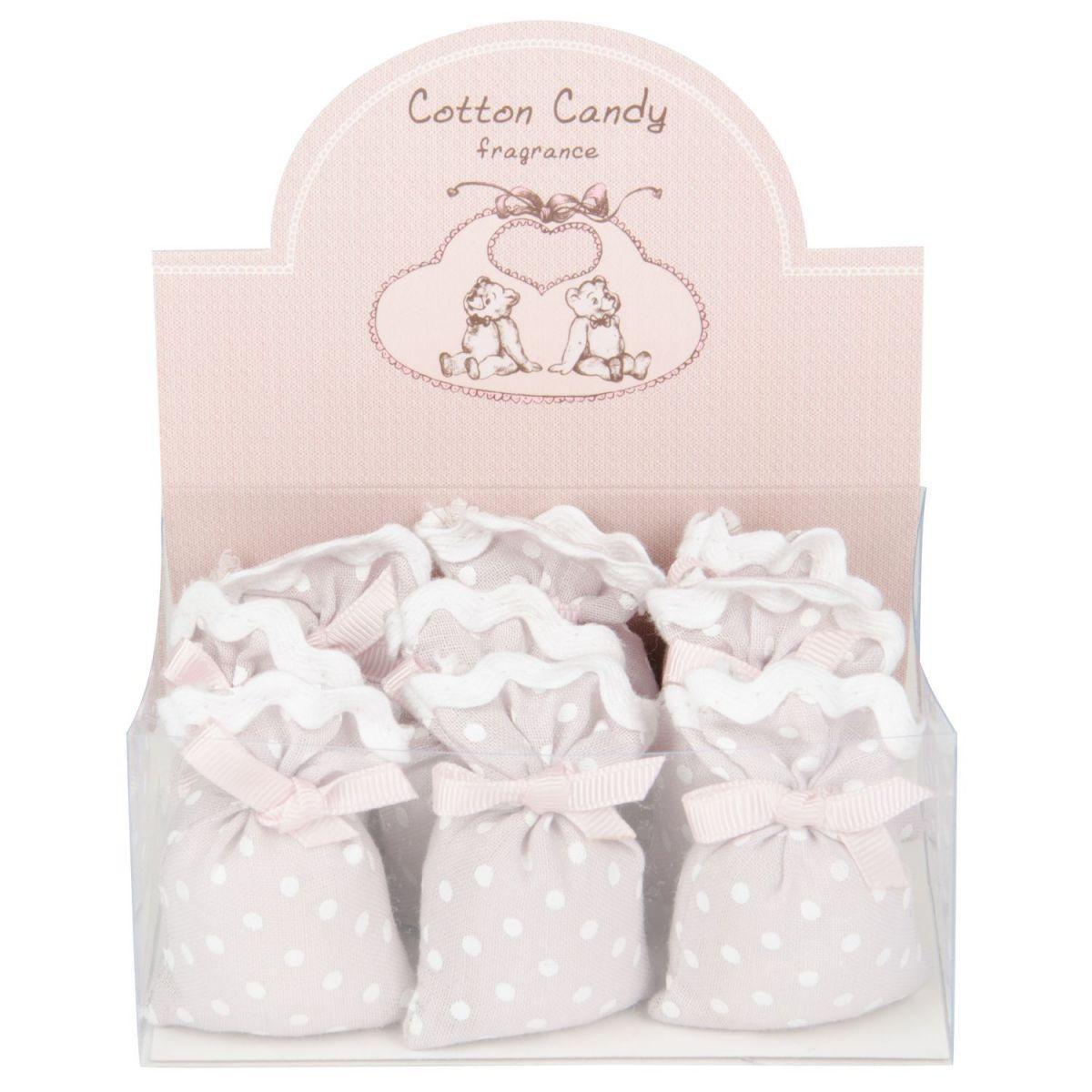 cotton candy linen sachet9 in giftbox de luxe pink