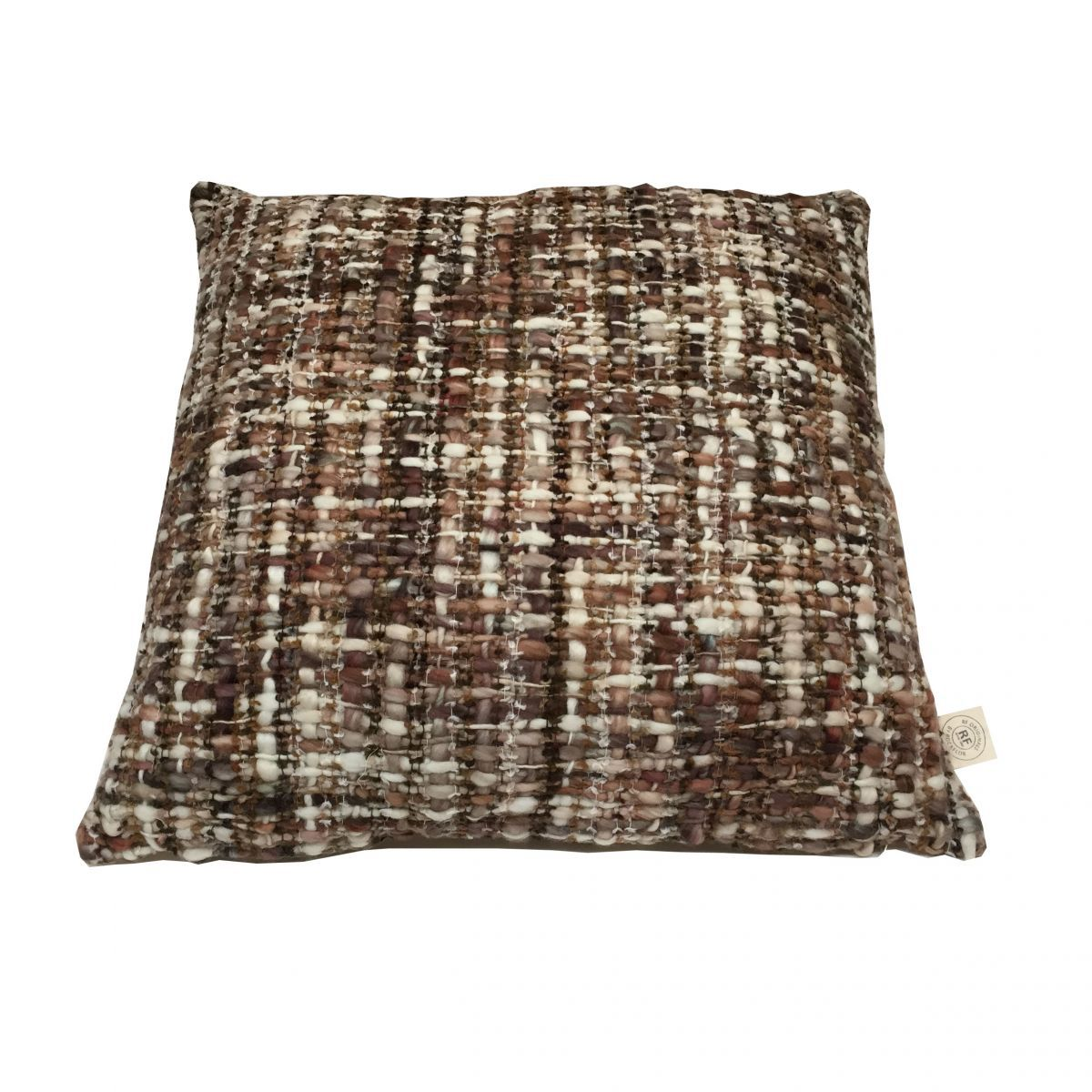 cushion acrylic brown 50x50cm incl of filler