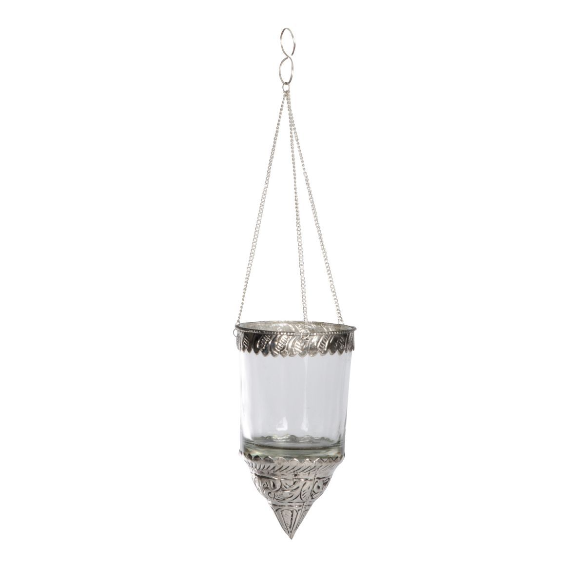 glass ant finish hanging votive1