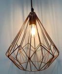 Hanging lamp Graphic Design Copper colour hg31 ø31cm