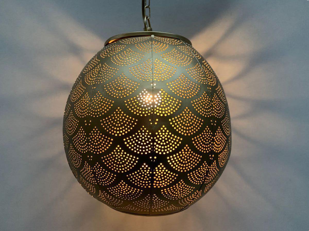 hanglamp bol filigrain goud hg 368 38cm
