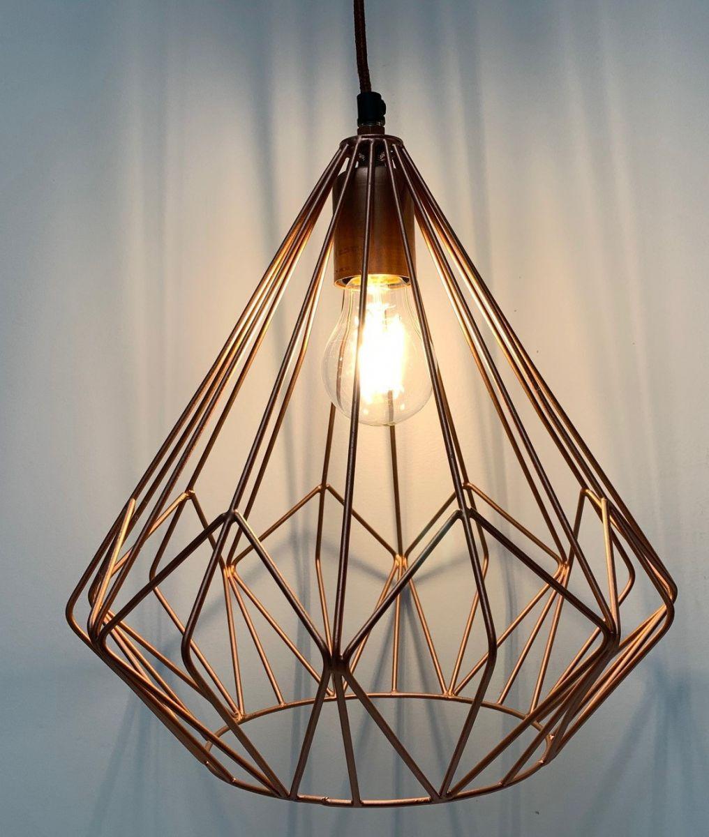 hanglamp grafisch design koper hg31 31cm