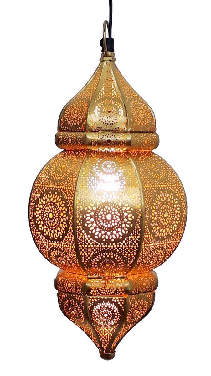 hanglamp oosters filigrain goud goud hg 33 19 cm