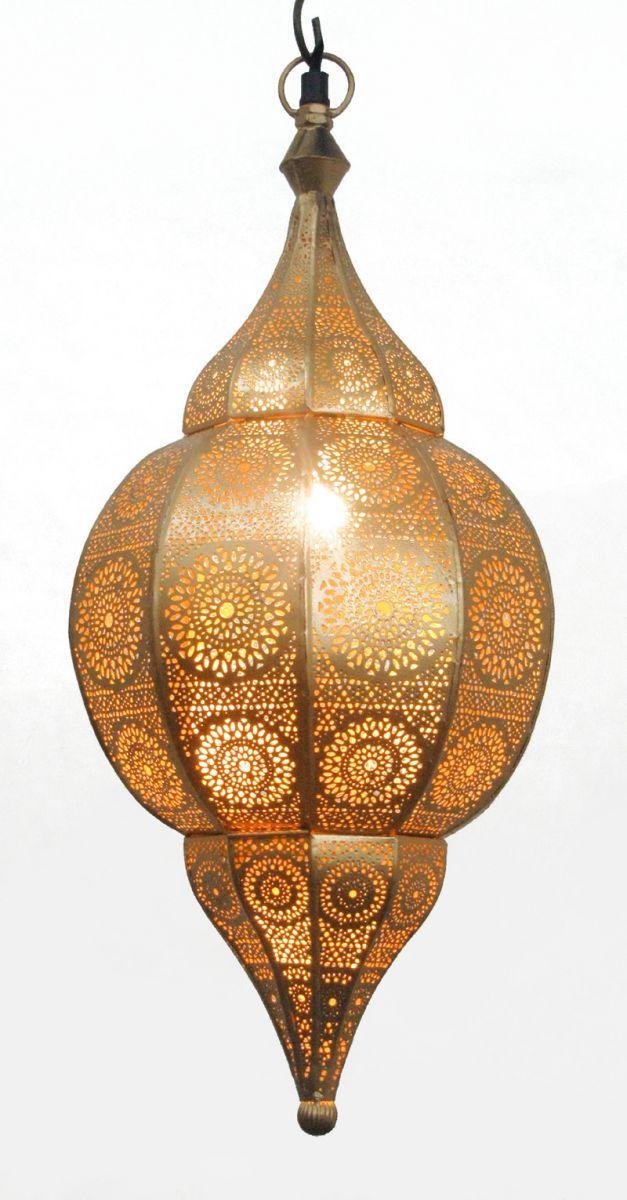 hanglamp oosters filigrain goud goud hg 48 22 cm