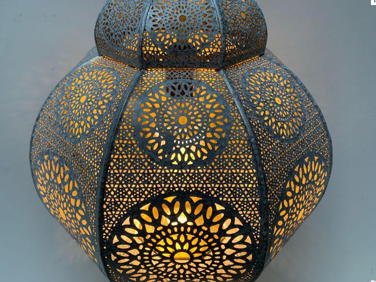hanglamp oosters filigrain wit goud hg 66 32 cm