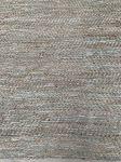 Kleed leer jute geweven salie groentinten 160x230cm