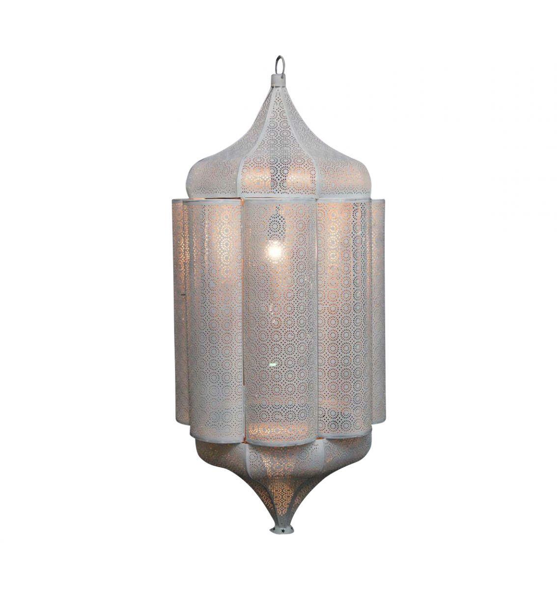 orintaalse filigrain hanglamp wit delhi hg99 42cm