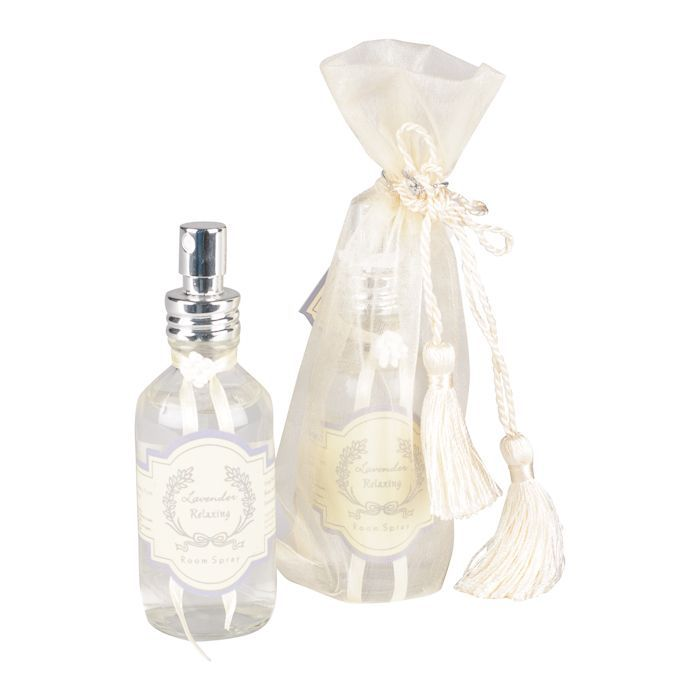 lavender 60ml roomspray in organza