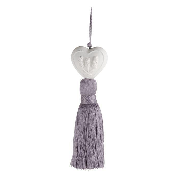 lavender ornament purple tassel
