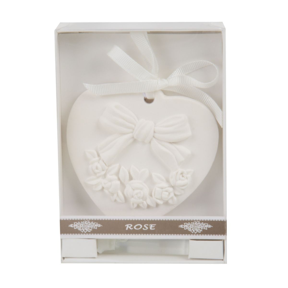 rose scented ornament in giftbox
