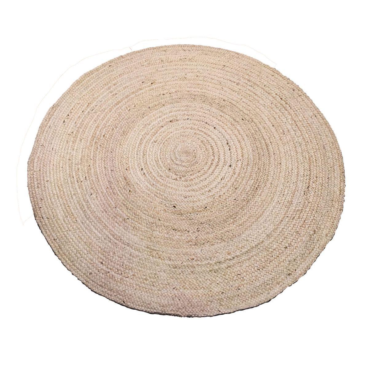rug jute offwhite 120cm