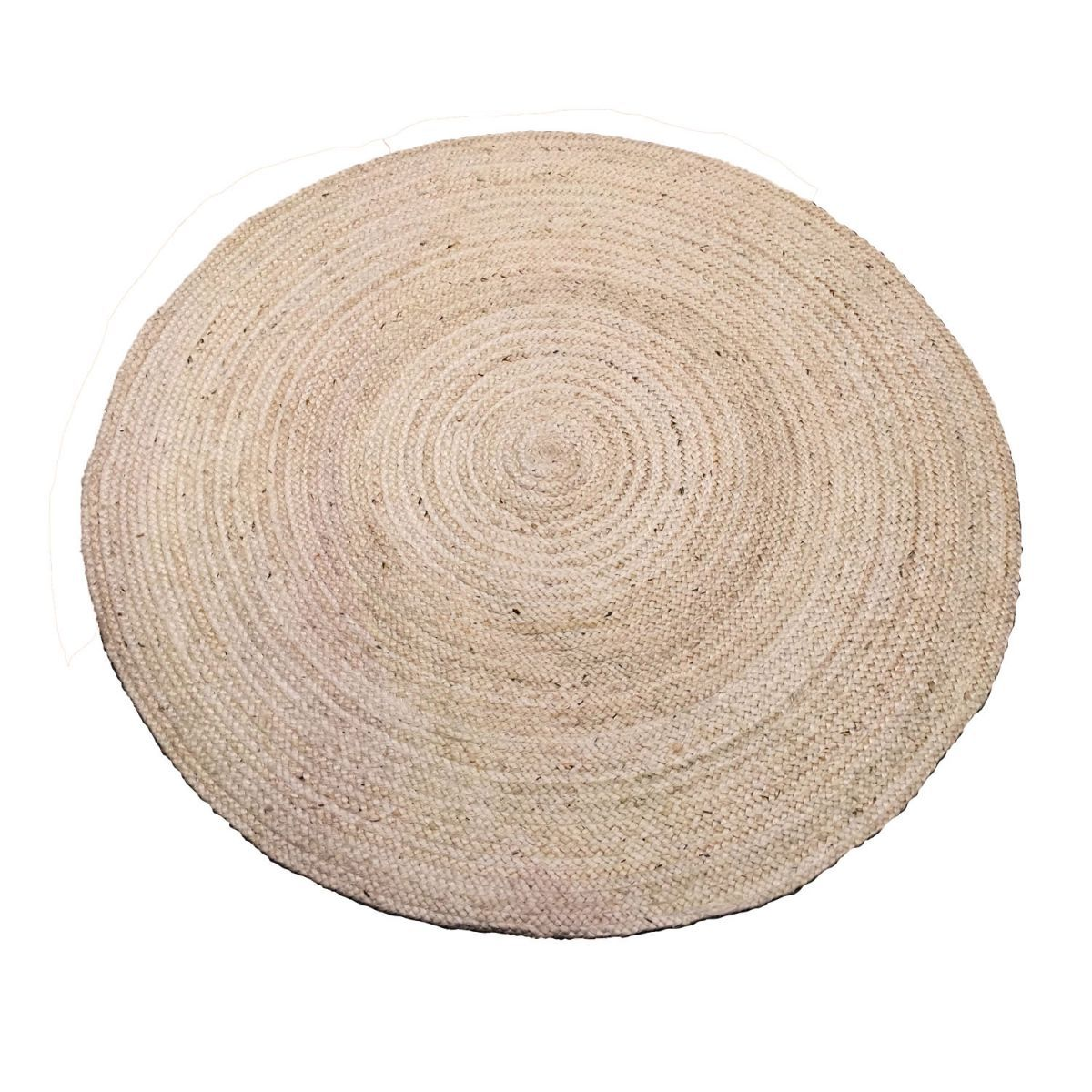 rug jute offwhite 250cm