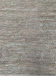 Rug woven jute recycled leather sage greencolours 160x230cm