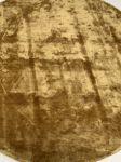 Vloerkleed viscose mosterdgeel rond ø250cm